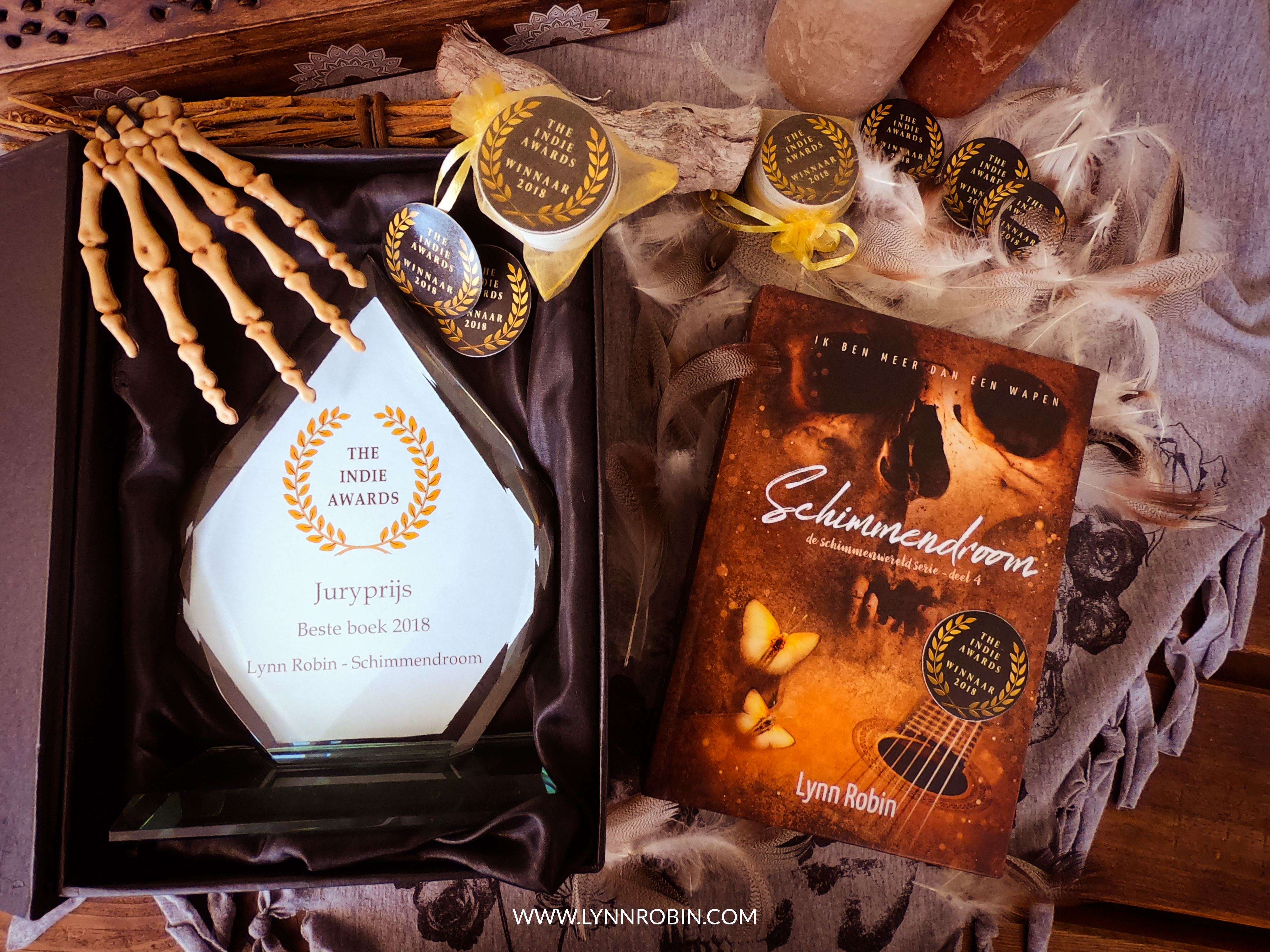 The Indie Awards: Mijn beste boek 2018 award!