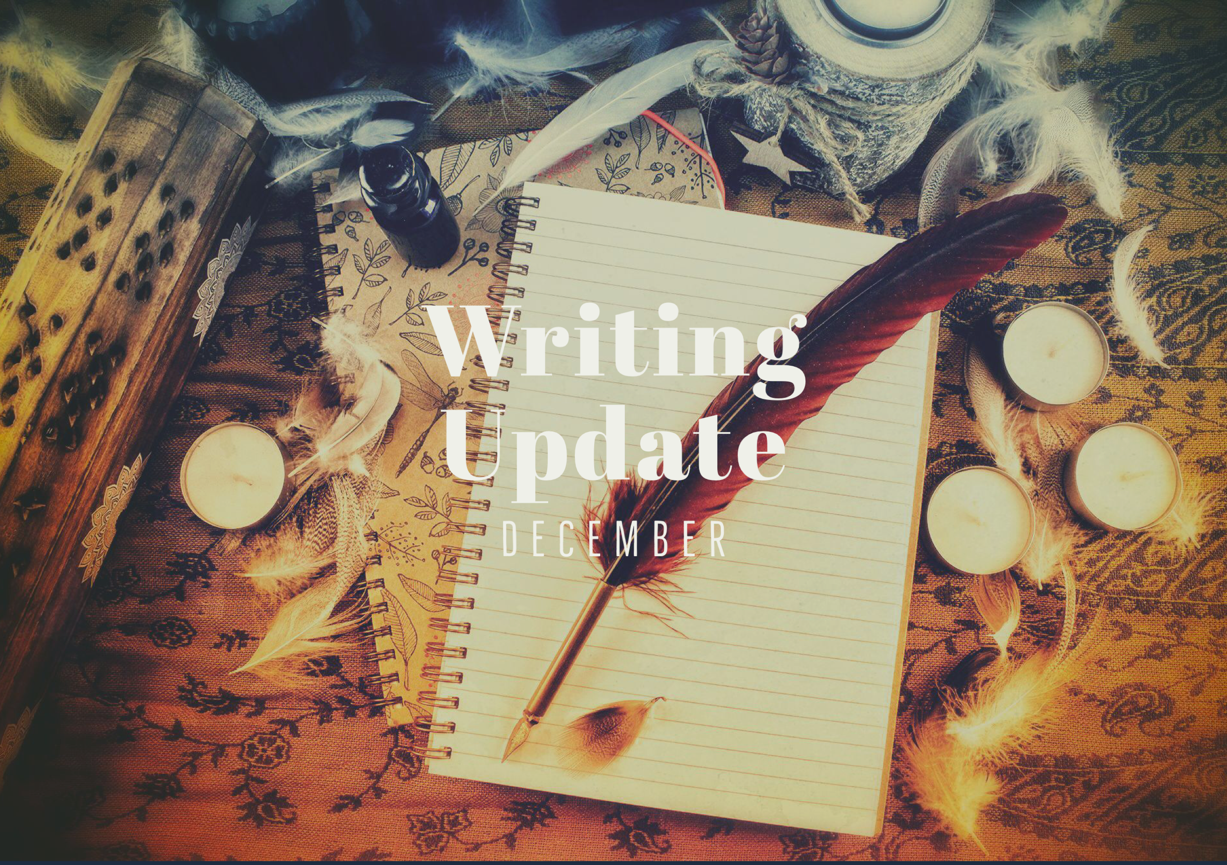 DECEMBER 2019 Writing Update: releasing JODI COLLINS, finishing NOCTURNE, and merry Christmas