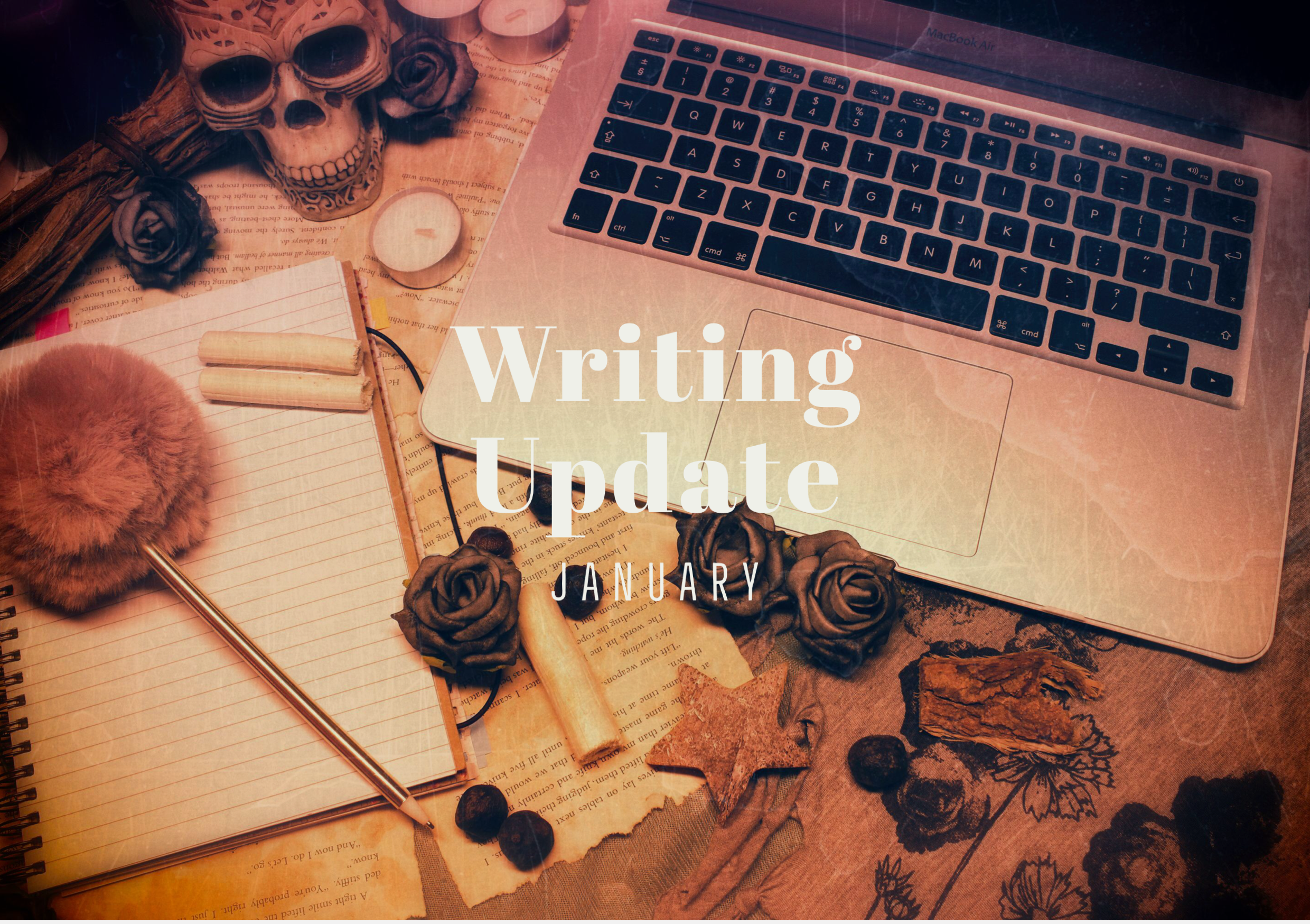 JANUARY 2020 Writing Update: INSOMNIA publish-ready + writing ALAIN SOMNUS + dancing demons