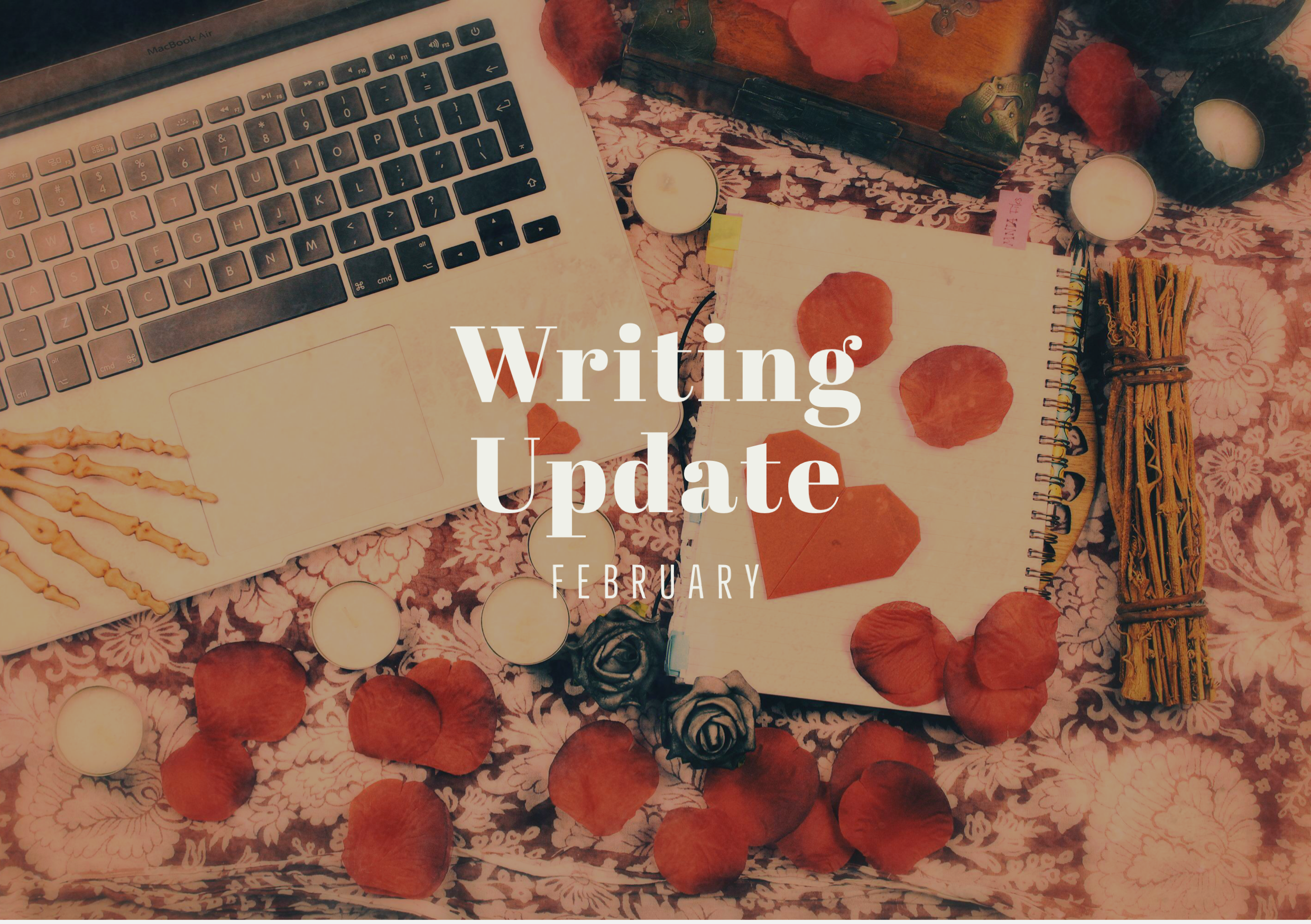 FEBRUARY 2021 Writing Update #1: Words in the Snow