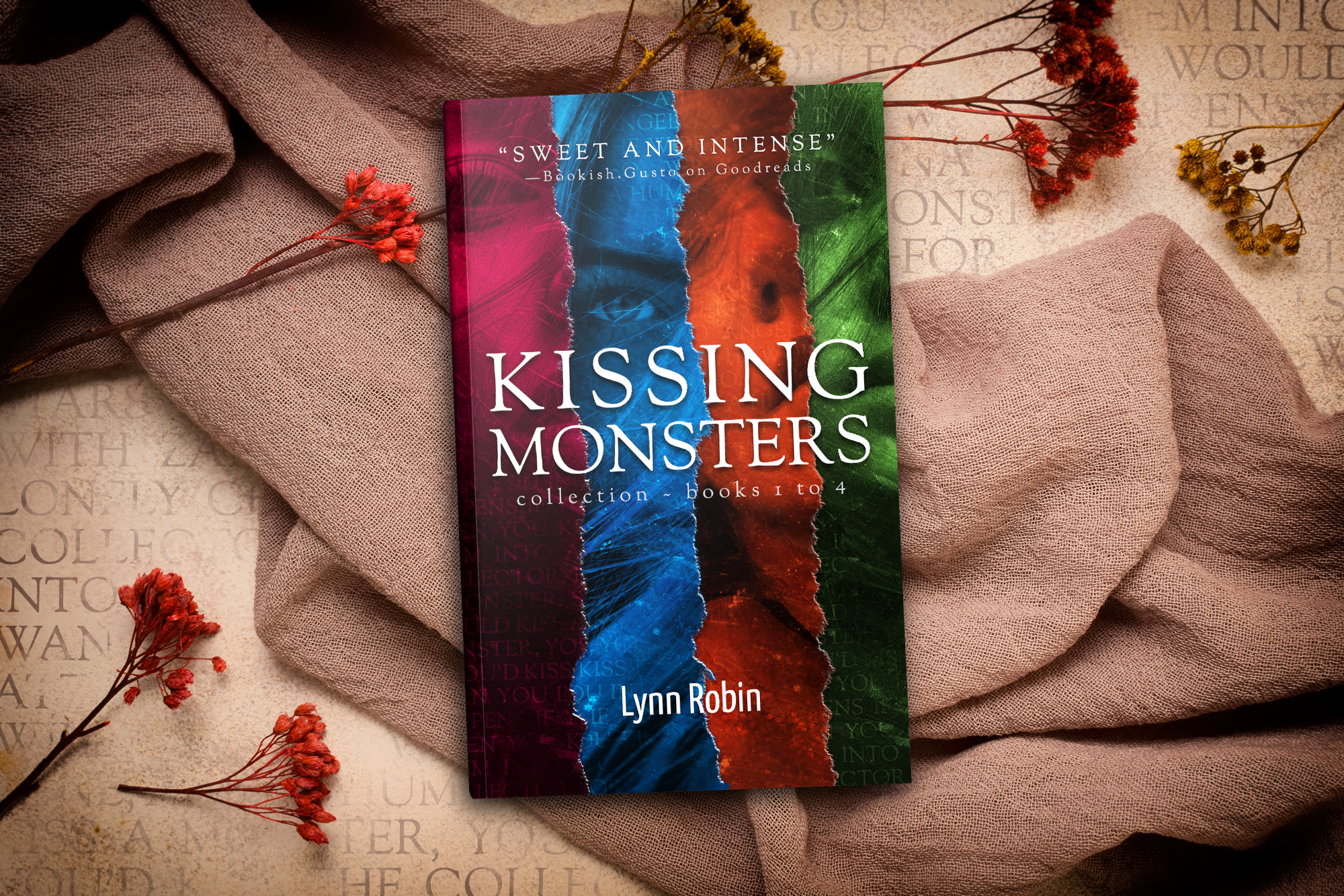 Kissing Monsters Collection (KM Col. #1) & KISSING NIGHTMARES (Kissing Monsters #5): Official cover reveals and release dates